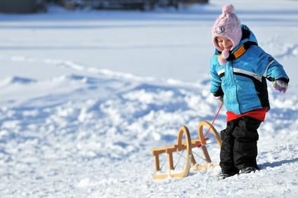 Seit über 5.000 Jahren nutzen die Menschen Schlitten. Früher um damit zu arbeiten und heute für den Spaß. © jörn buchheim - Fotolia.com