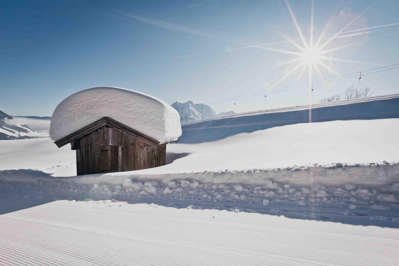 Schnee, Sonne und Berge. Das Pillerseetal überzeugt Familien.  Foto:(c) Tourismusverband Pillerseetal