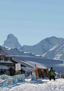 Skifahren vor dem Matterhorn. Da stimmt einfach alles!Foto: ©Wallis Tourismus