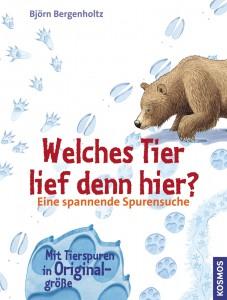 """Bei jedem Winterspaziergang sollte das Buch """"Welches Tier lief hier?"""" vom Kosmos Verlag dabei sein. Eine spannende Lektüre für große und kleine Outdoorer.Foto: (c) Kosmos Verlag"""