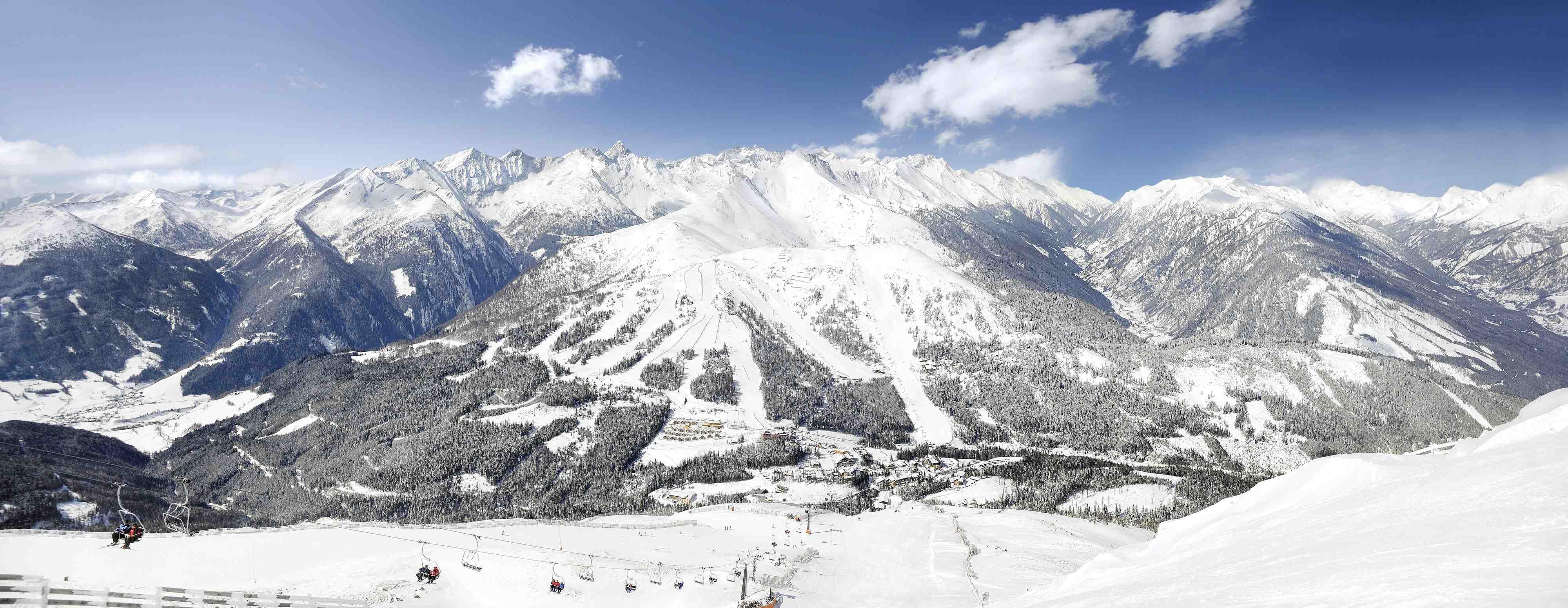 Tolle Aussichten für einen Familienurlaub: Der Katschberg im Winter.  Foto: (c) Tourismusregion Katschberg