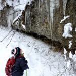 Ups! Eiszapfen können ganz schön lang sein! Foto: (c) Kinderoutdoor.de
