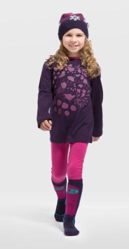 Cool und warm können die Kinder auch 2013 in den Winter starten mit Merinowäsche von Icebreaker.Foto: (c) Icebreaker