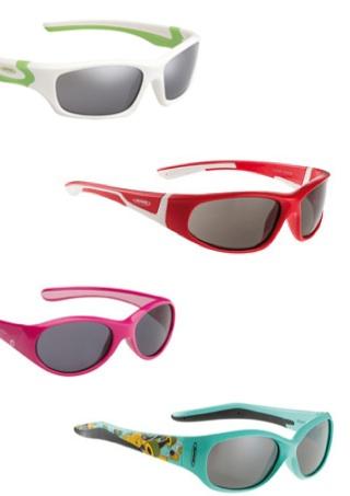 Ausgestattet wie die Modelle der Erwachsenen sin die neuen Kinderbrillen von Alpina und nahezu unkaputtbar.Foto:(c) alpina