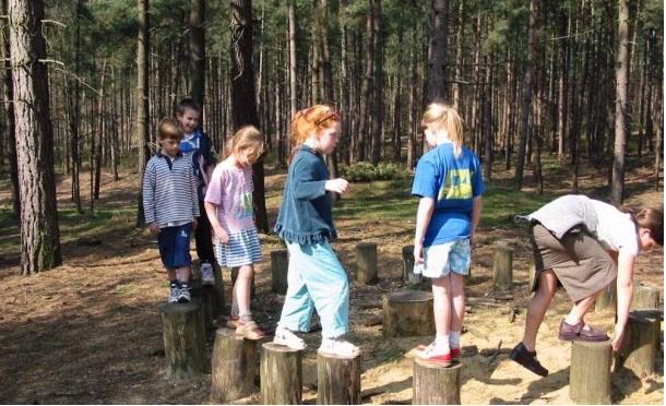In den Wäldern von Nord-Limburg können Kinder spielen und die Natur entdecken. Foto: (c) Stichting Promotie Noord-Limburg