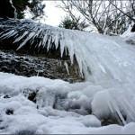 Bizarre Eisformationen bilden sich im Eistobel. </p><br /><br /><br /><br /><br /><br /> <p>Foto: (c) Kinderoutdoor.de