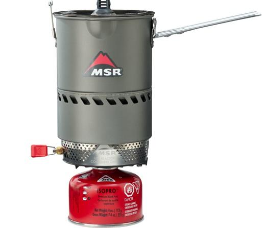 Ein Volks-Reactor. MSR bietet ultimativen Kochkomfort bei Outdoor-Abenteuern.Foto: (c) MSR