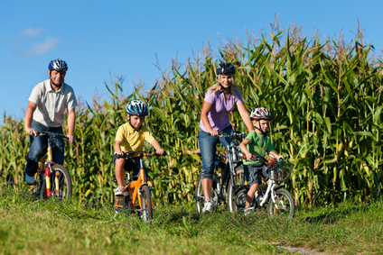 Mit dem Rad von Schleswig nach Kappeln auf dem Wikinger-Friesen-Weg. Foto: © Kzenon - Fotolia.com