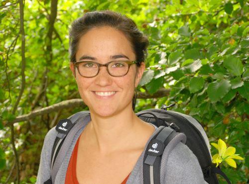 Bei Deuter ist Katrin Riedel bringt als Corporate Responsibility Managerin Ökologie, Ökonomie und Soziales in Einklang. Foto: (c) Deuter