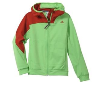 Für coole Jungs: Boys 1sd Fleece Hoody von Adidas.Foto: (c) Adidas