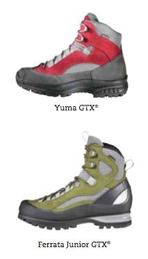 Für alle Kinder die gerne hoch hinaus wollen, bietet Hanwag den Bergstiefel Yuma GTX oder den Ferrata Junior GTX an.  Foto: (c) Hanwag
