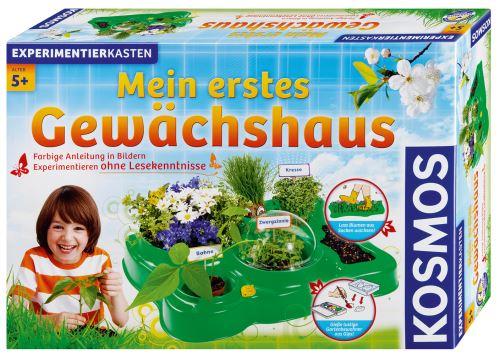 Ein Minigewächshaus für Kinder, die wissen wollen wie Pflanzen wachsen. Im Gegensatz zu den Experimentierkästen mit denen wir als Kinder rumwerkten, ist das ein harmloses Vergnügen. Foto:(c) Franckh-Kosmos Verlags-GmbH & Co. KG