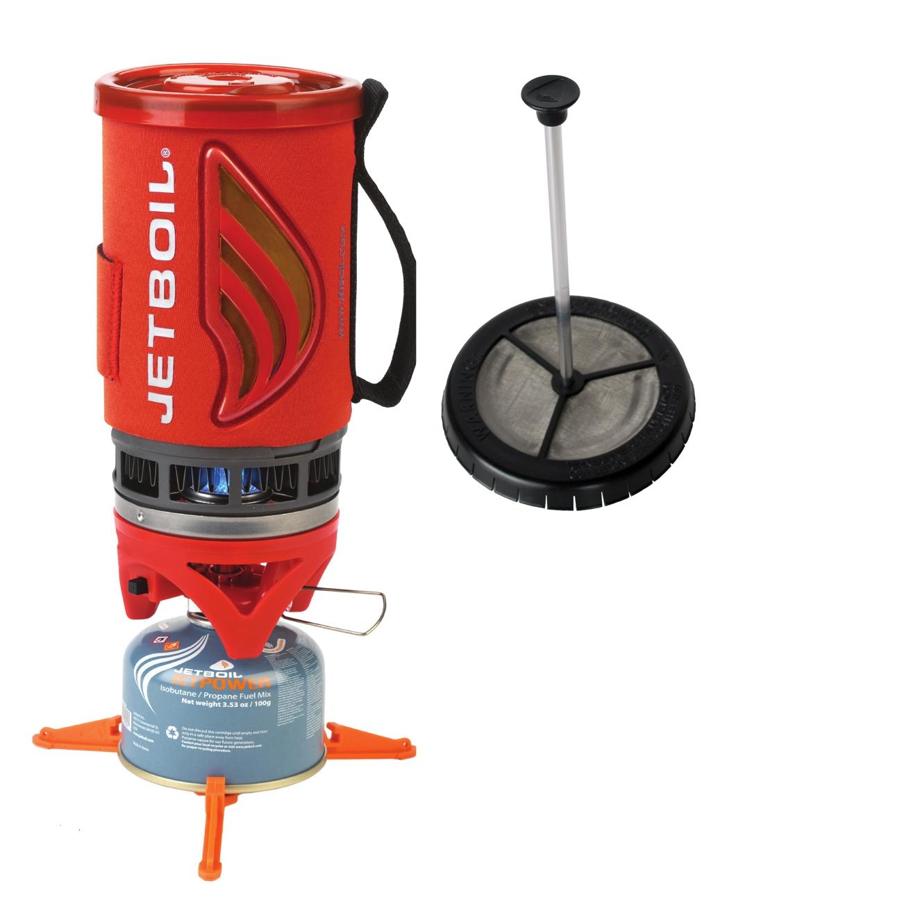 Guten Kaffee and go! Mit dem Jetboil Coffee Flash ist die Grundversorgung der Eltern bei Outdoor-Aktivitäten mit Kaffee  gesichert.  Foto: (c) Jetboil