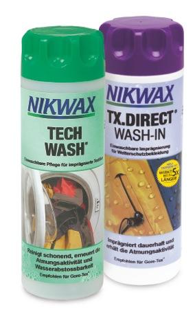 Mit Nikwax könnt Ihr Euere Outdoor Kleidung schadstoff-frei imprägnieren. Foto: (c) Nikwax