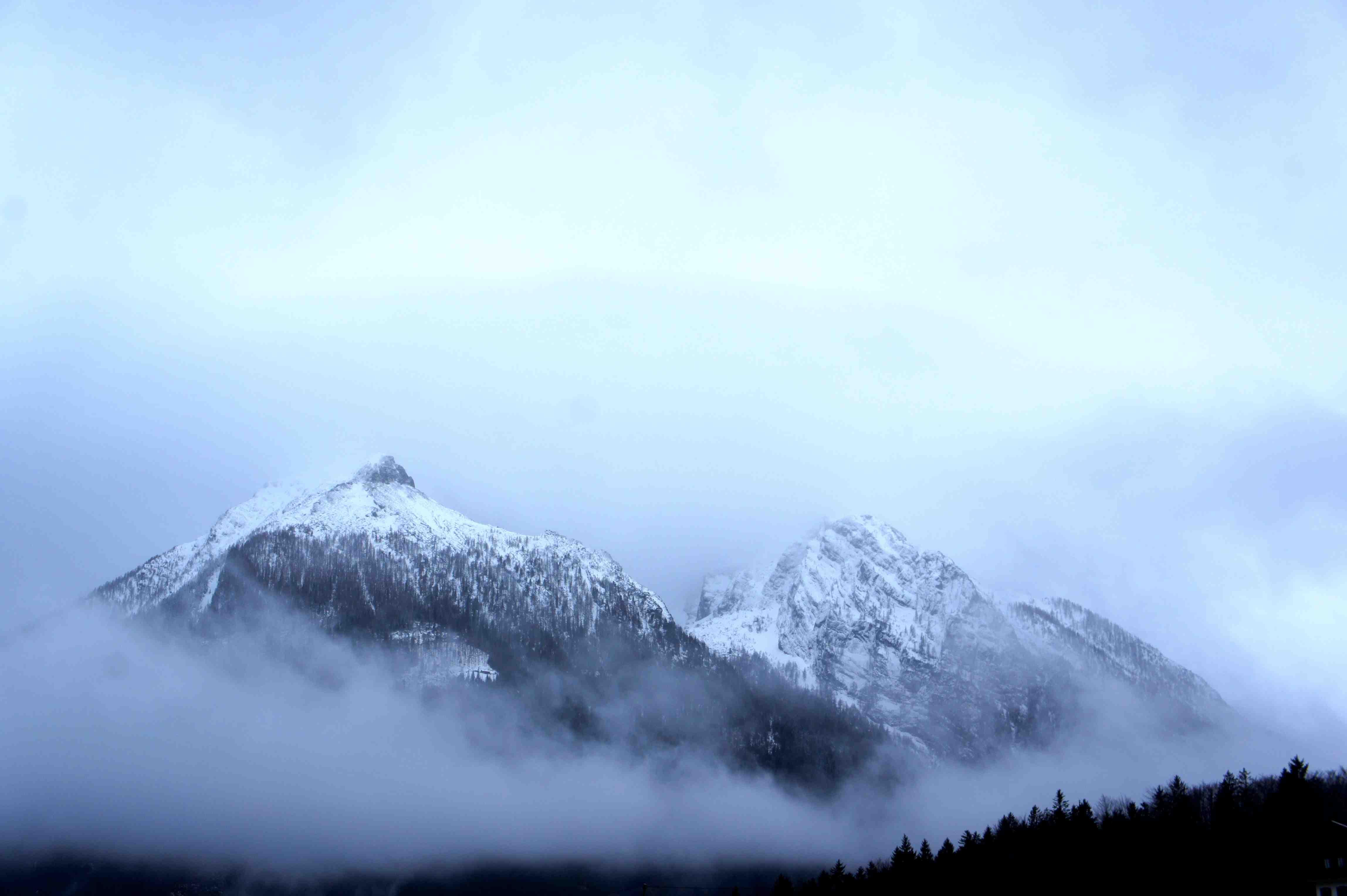 Schlechtes Wetter zum Bergsteigen am Hochkalter. Ideale Bedingungen um die neue Haglöfs Kollektion zu testen. Foto: (c) Kinderoutdoor.de