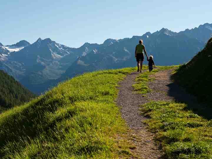 Natur pur für die ganze Familie. Wandern mit Kindern macht in Tirol besonders Spaß. Foto: (c) TW Family tirol