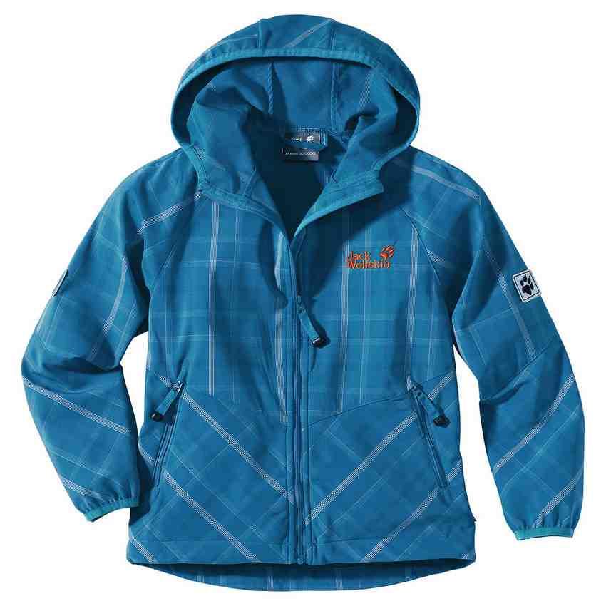 Auf Tour und im Alltag getestet: die Jack Wolfskin Softshell Jacke für Kinder. Das  Kids Light Grid Jacket hatte einiges auszuhalten. Foto: (c) Jack Wolfskin