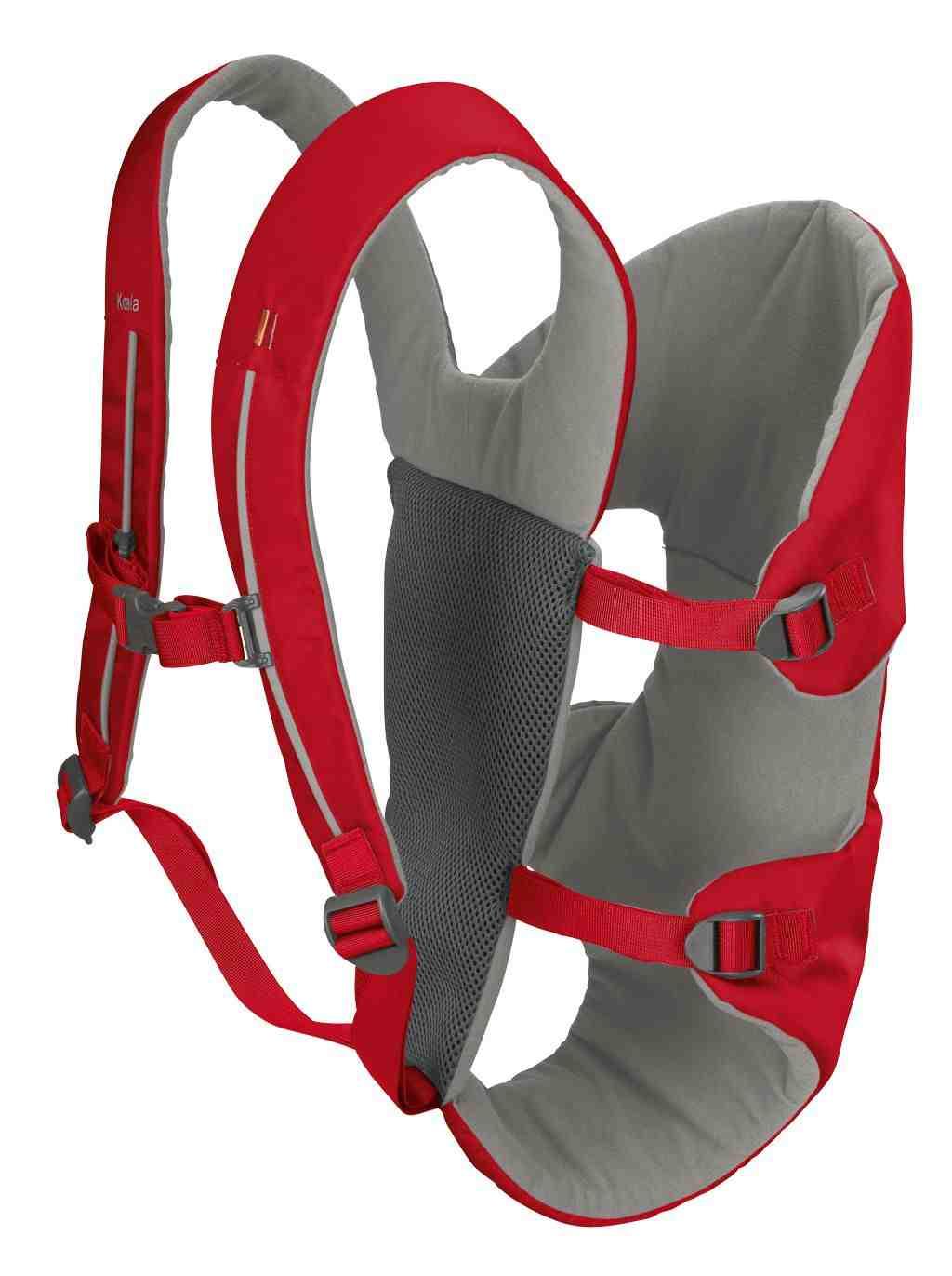 Passt in jeden Rucksack ist 350 g leicht und ideal als Behelfstrage. Die Vaude Koala Kindertrage. Foto: (c) Vaude
