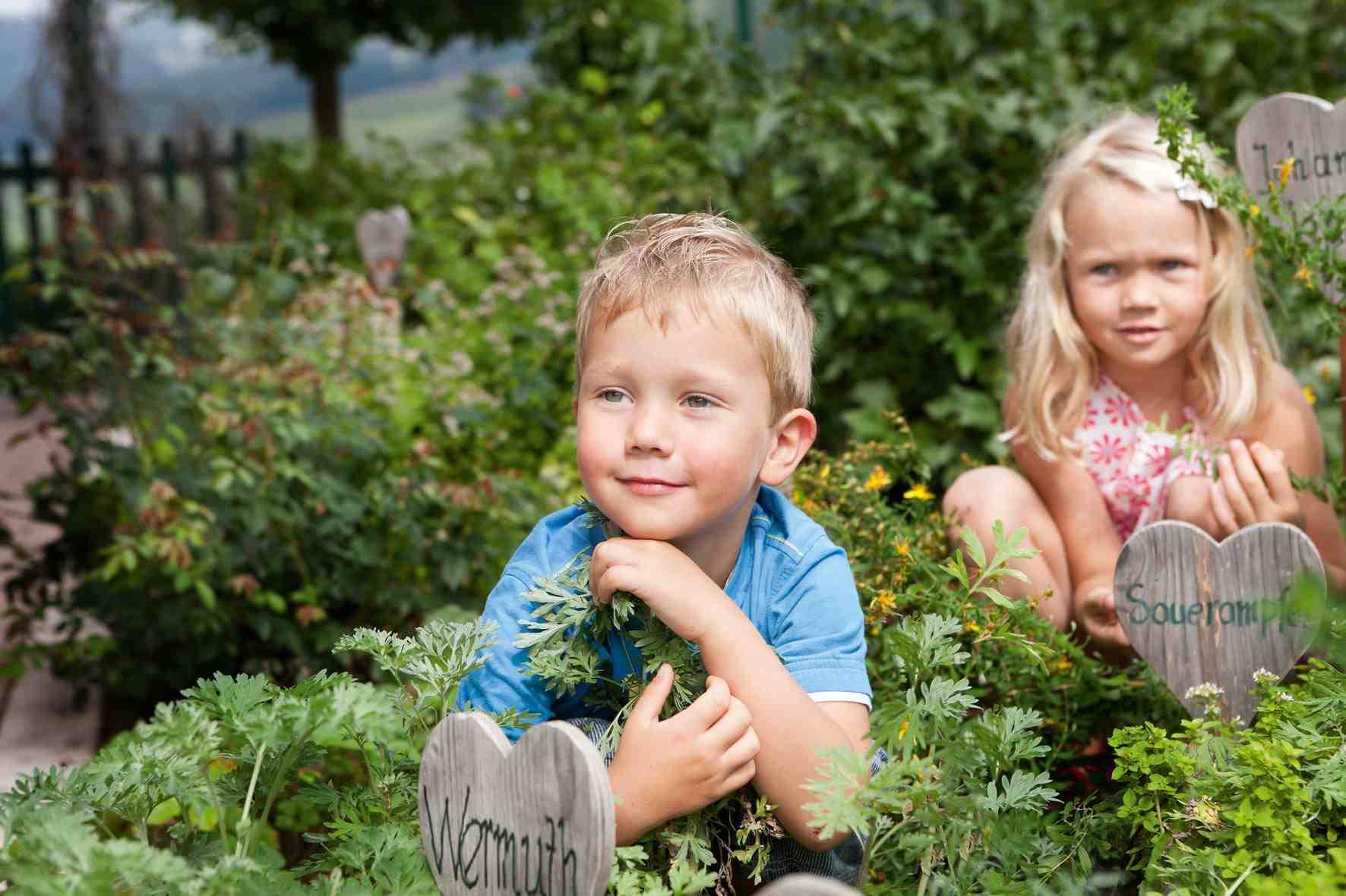 Auf der übergossenen Alm im Salzburger Land erfahren Kinder mit allen Sinnen die Natur der Alpen. Foto: Übergossene Alm /Salzburger Land
