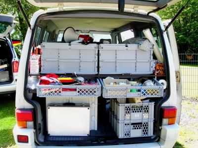 """""""Hast Du auch den Dosenöffner eingepackt?"""" Hier ist unsere erweiterbare Packliste für das Campen mit der Famiie. Foto:  Margot Kessler  / pixelio.de"""
