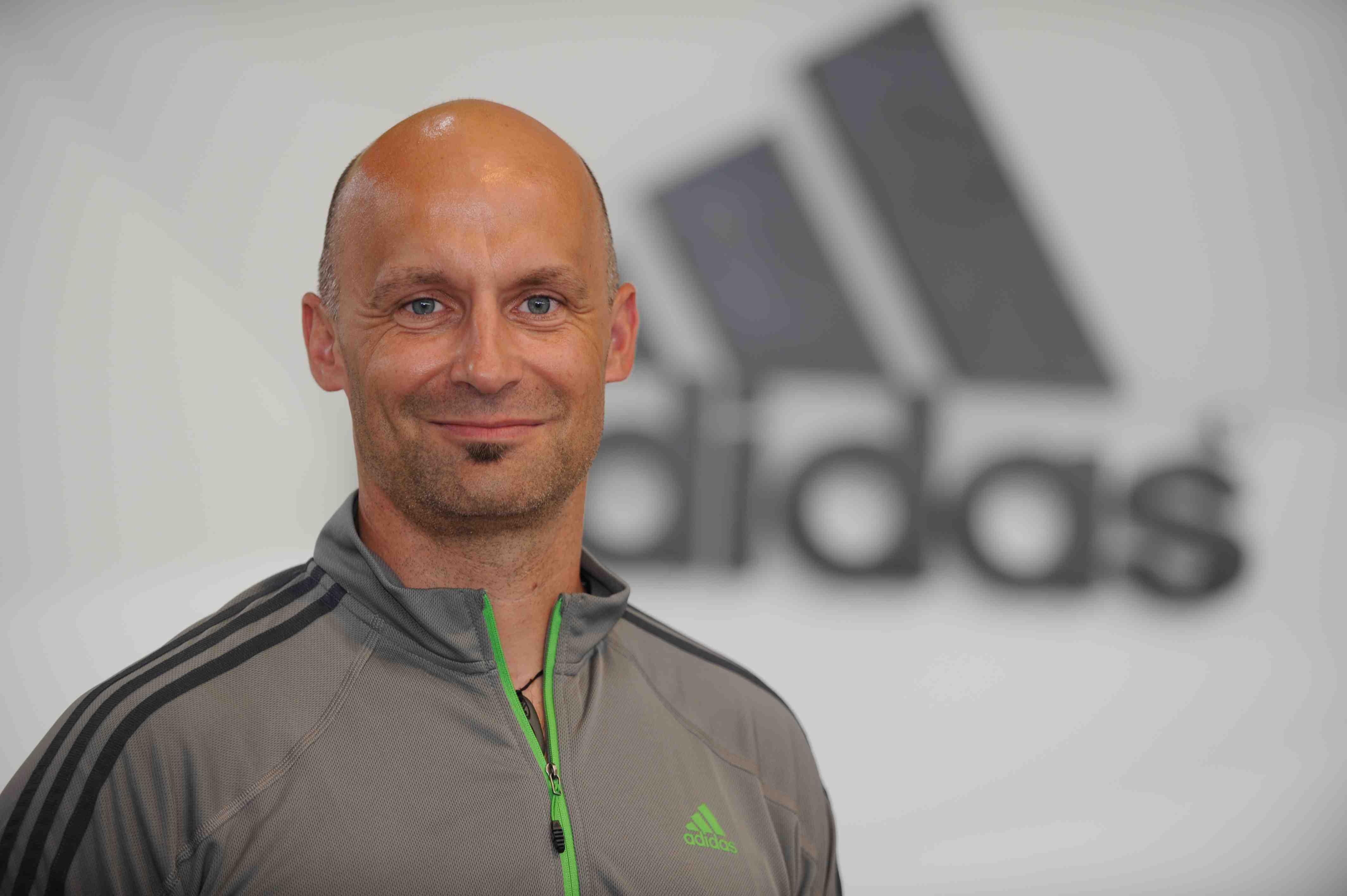 """Marc Fischer, Head of Outdoor bei adidas: """"Wenn eine Jacke im Himalaya dicht hält und wärmt, dann wird sie das auch auf dem Kinderspielplatz tun."""" Foto: (c) adidas AG"""