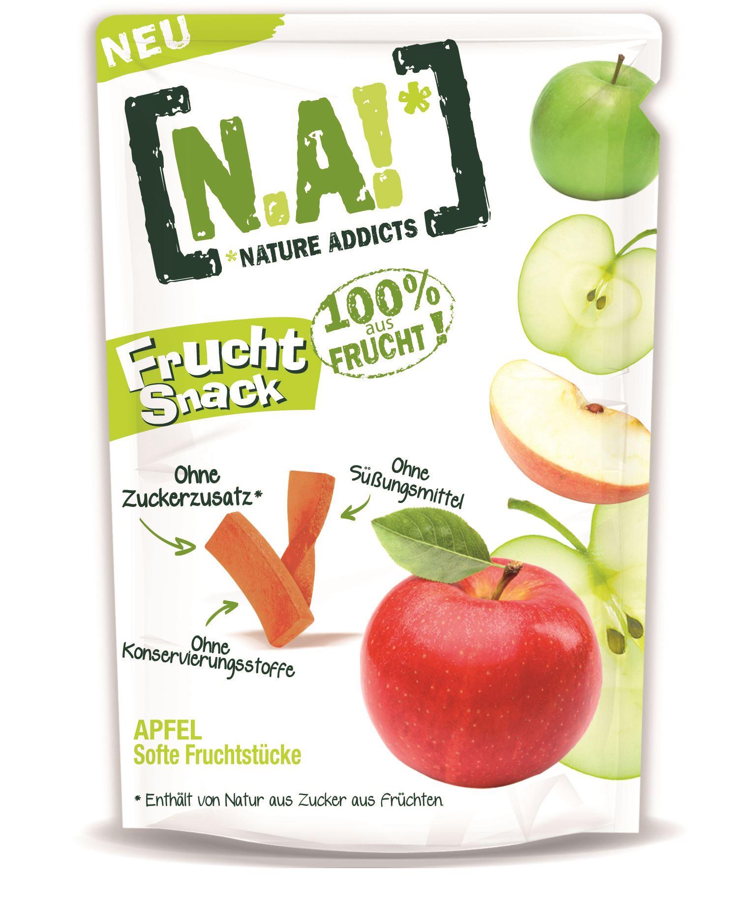 Ein idealer und gesunder Snack für das Wandern mit Kinder kommt von N.A. Das Ganze kommt ohne Zucker, Süßungs- und Konservierungsmittel aus.  Foto: (c) N.A.