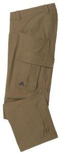 Hält Wasser und UV Strahlen ab: Die Stretch Zipp-Off Pants von adidas. Foto: (c) adidas