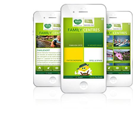 Eine App für den Familien-Urlaub in der Steiermark: Die Family Fun Guide App. Foto:(C) steirische Tourismus GmbH