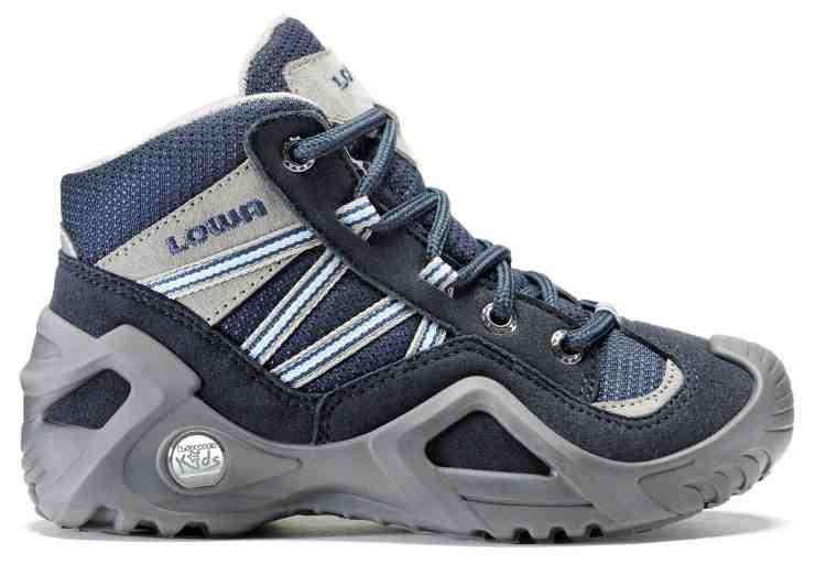 So sieht die neue Generation der Outdoor Schuhe für Kinder aus: Der Lowa GTX Qc. Foto: (c) Lowa