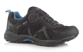 Viking stellt Outdoor Schuhe für Kinder her. Der Quest hat mit seiner Ausstattung (Boa Disk und Gore Tex) überzeugt. Foto: (c) Viking Footwear