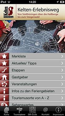 Wandern in Bayern, abseits der Alpen: Von Südthüringen auf dem Keltenerlebnisweg bis in den Steigerwald. Die passenden App dazu machts möglich. Foto: Keltenerlebnisweg