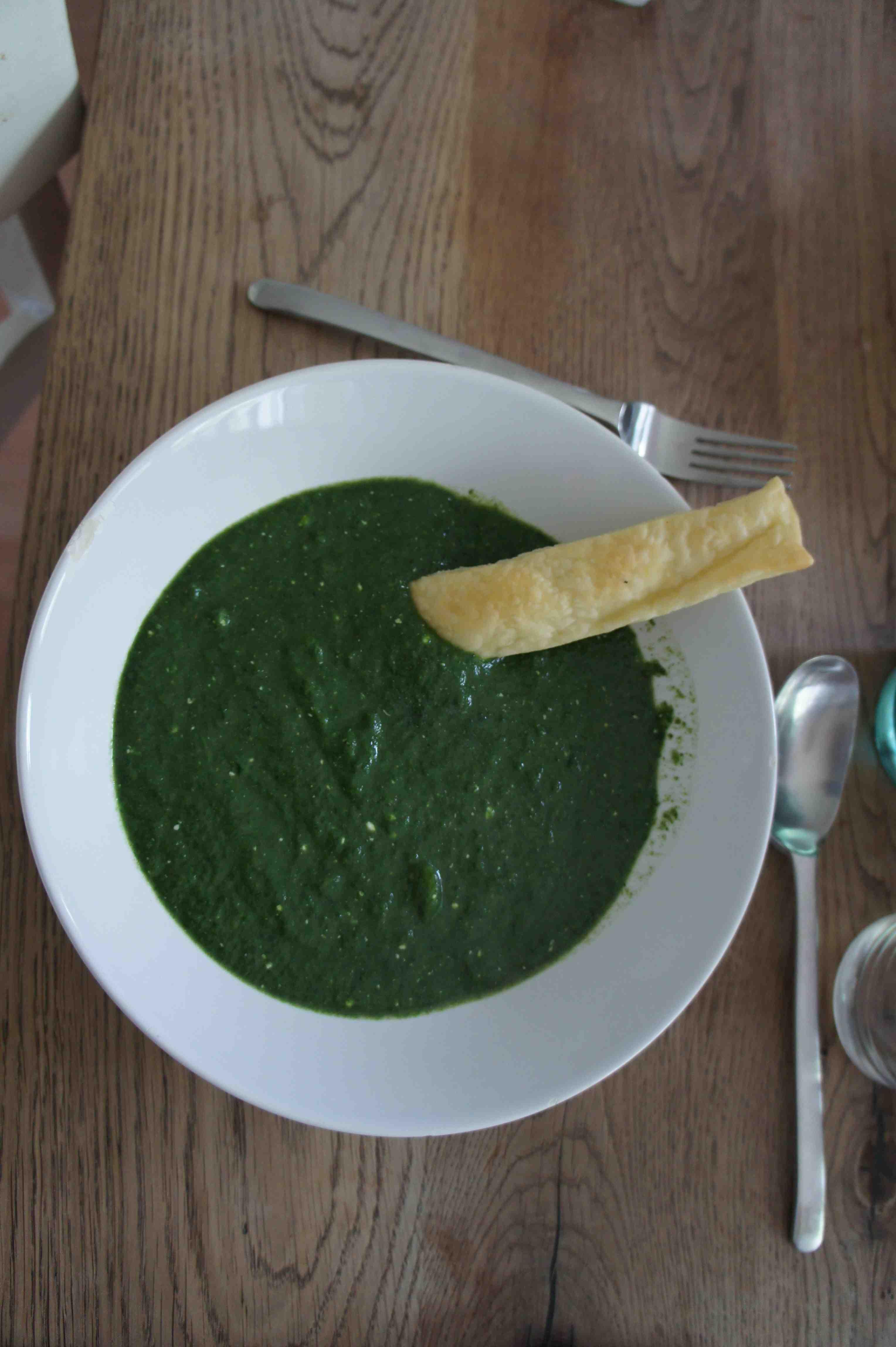 Heute kochen wir mit den Kindern eine leckere Spinatsuppe. Foto: (c) Kinderoutdoor.de