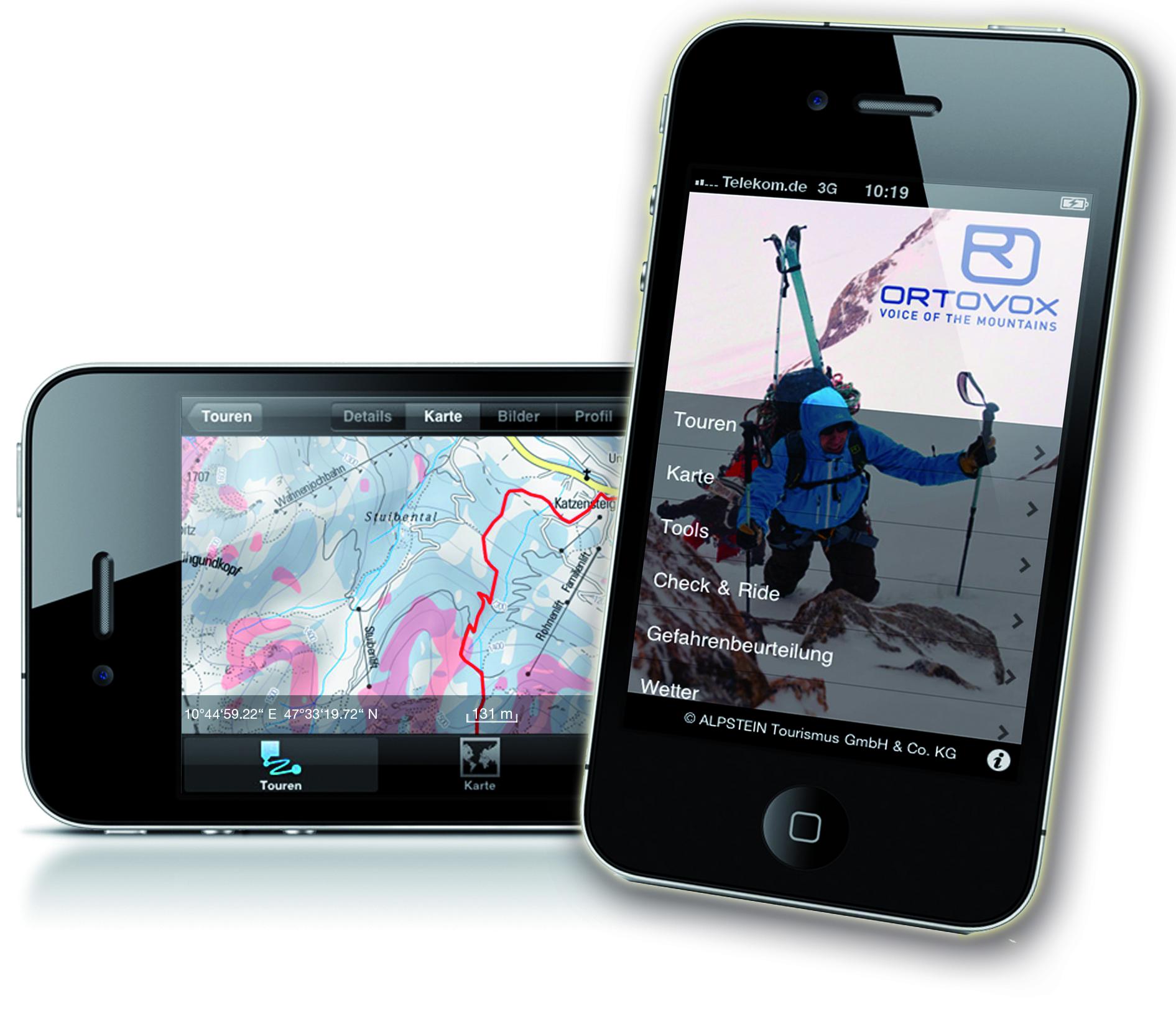 Ortovox kann mehr als tolle Merino Kleidung und Lawinensuchgeräte. Die kostenlose Outdoor App bringt im Sommer und Winter Bergsteiger, Skitourengeher, Trailrunner usw auf die Berge. Foto: (c) ortovox