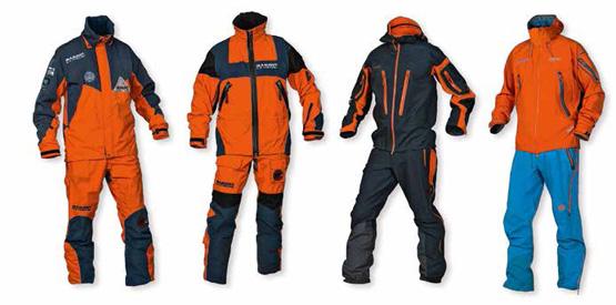 Die Evolution eines legendären Alpinisten-Outfits: Von MAMMUT Extreme (1995) zu MAMMUT Eiger Extreme (2013) Foto: (c) Mammut