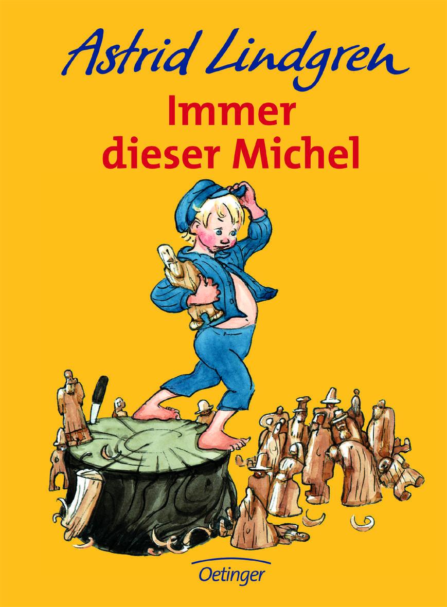 Immer dieser Michel! Was der Knirps aus dem Dorfe Lönneberga angestellt hat, gibt es in diesem kurzweiligen Vorlesebuch. Foto: (c) Oetinger-Verlagsgruppe