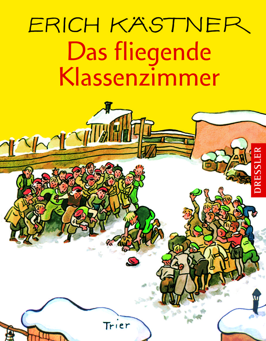 Ein Vorlesebuch für alle die zur Schule gehen (müssen): Das fliegende Klassenzimmer von Erik Kästner. Foto: (c) Dressler Verlag  Oetinger Verlagsgruppe
