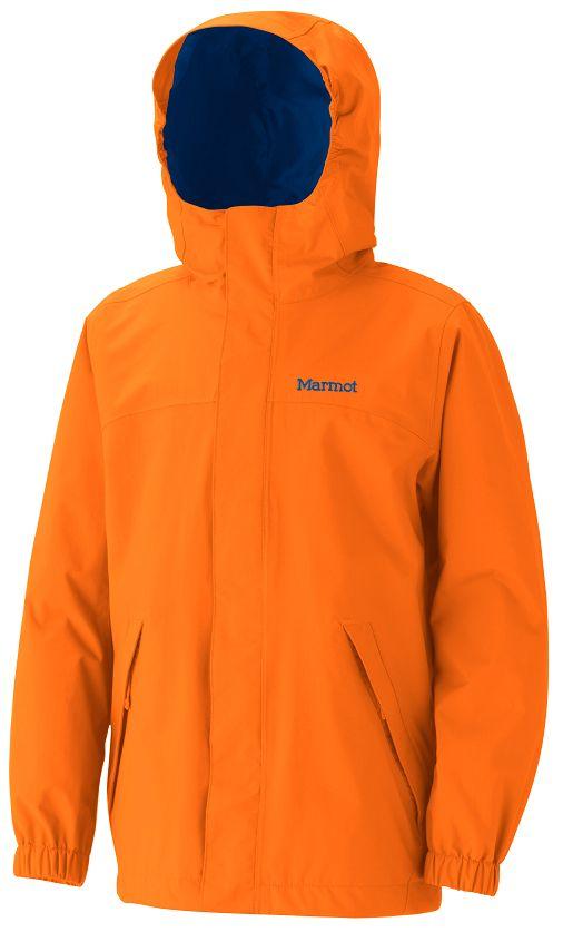 Marmot hat was gegen den Herbst! Die Kinder Regenjacke Boy's Storm Shield. Foto: (c) Marmot