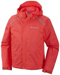 Columbia und der Herbst-Regen sieht rot! ein tolles Preis-Leistungsverhältnis hat die Chromatech Rain Jacket. Foto: (c) Columbia