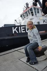 """Made in Europe: Die Kindersoftshelljacke """"langeauf"""" von elkline ist in Europa gefertigt. Foto: (c) Kinderoutdoor.de"""