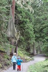 Sturzflug! So heisst einer der drei Abenteuerberge in Serfaus-Fiss-Ladis. Hier lösen die Kinder einen kniffligen Fall! Foto: (c) kinderoutdoor.de