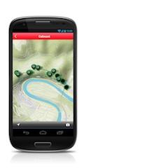 Mit der neuen Android App vom Rother Bergverlag sicher ans Ziel kommen. Foto: (c) Bergverlag Rother