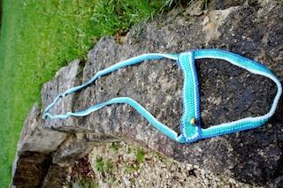 Mit der Ponyleine könnt Ihr das Dressur-Spiel mit den Kindern bei der Schnitzeljagd durchführen.  Foto(c) Kinderoutdoor.de
