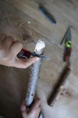 Mit diesem Ende wird gegessen, deshalb ordentlich abrunden! Foto: (c) Kinderoutdoor.de