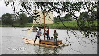 Leinen los! Auf dem Ferienhof Kosertal können kleine Piraten auf Kaperfahrt gehen! Foto: Ferienhof Kosertal, Fam. Schramm, Marktleugast