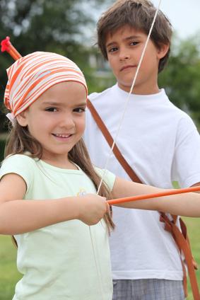 Endlich! Hört Ihr manche Kinder bei der Robin Hood Schnitzeljagd an dieser Station sagen. Foto:  © auremar - Fotolia.com