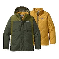 3 in einer! Patagonia bietet mit dem Boy´s 3 in 1 Jacket eine hochwertige Outdoor Jacke für Kinder an. Foto: (c) Patagonia