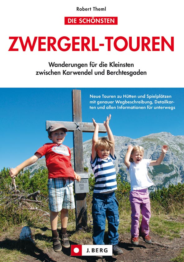 """Verlosung: Ein Exemplar von """"Zwergerl Touren"""" gibt es zu gewinnen. Foto: (c) J.Berg Verlag"""