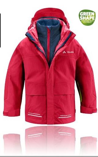 Outdoor Jacken für Kinder gibt es viele: Doch das Kids Suricate 3 in 1 Jacket ist bluesign zertifiziert und unglaublich praktisch. Foto:(c) Vaude