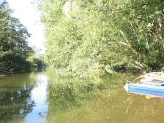 Wer im Herbst eine Kanutour auf der Werse im Münsterland unternimmt, kann dort viele seltene Tiere beobachten. Foto: (c) Kinderoutdoor.de