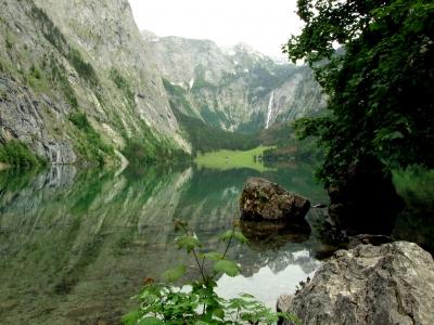 Die Wasserfälle in Deutschland haben eine klare Nummer eins: Den Röthbachfall am Obersee.  Foto: (c) Christian Bedey  / pixelio.de